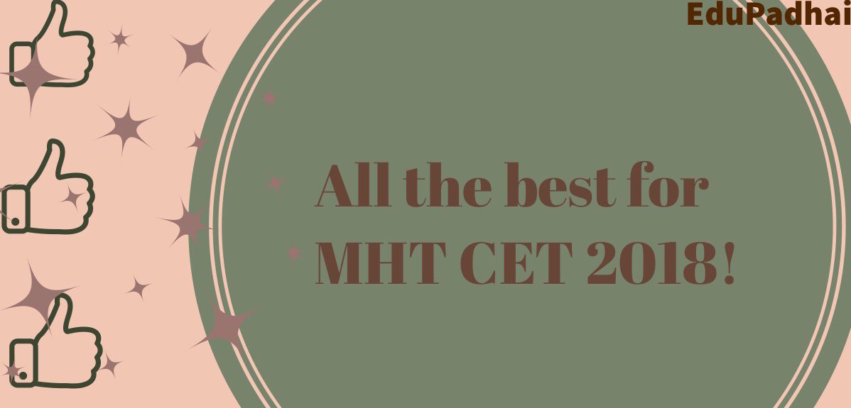 mhtcet2018 hashtag on Twitter