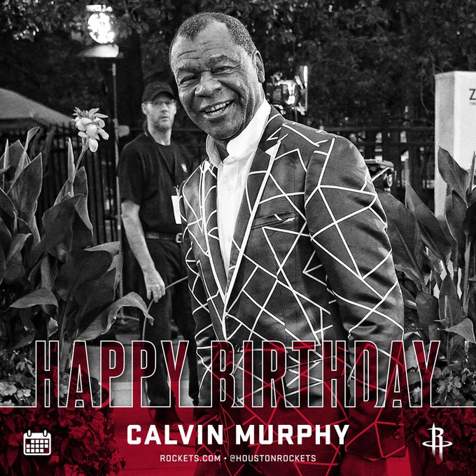 Remessage to wish Legend & Hall of Famer Calvin Murphy a happy birthday!