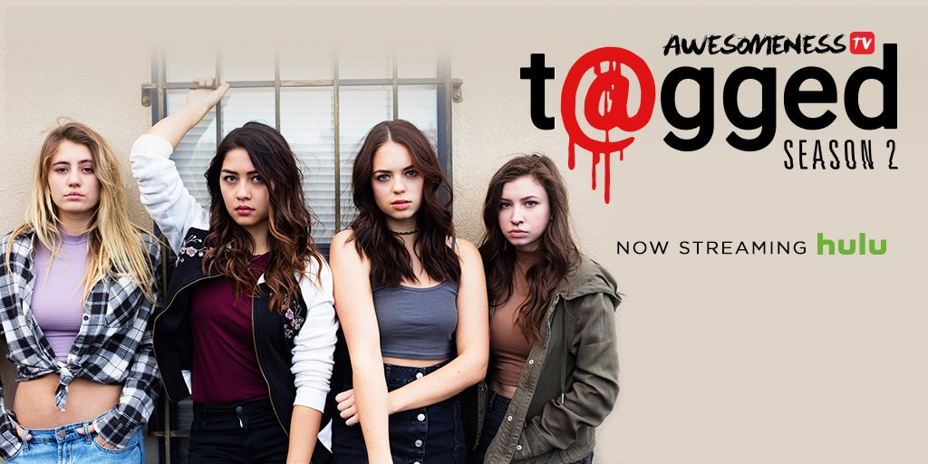 Trust no one. Season 2 of #taggedshow is now streaming on @Hulu. Go binge! hulu.tv/TaggedS2