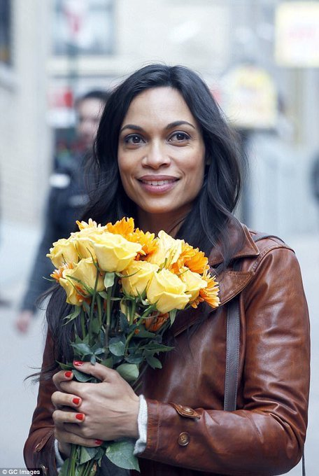 Happy birthday Rosario Dawson
