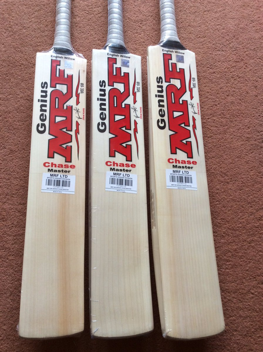 1bfe3b0e6f1 We currently have these very limited edition  imVkohli MRF Chase Master  cricket bats in stock