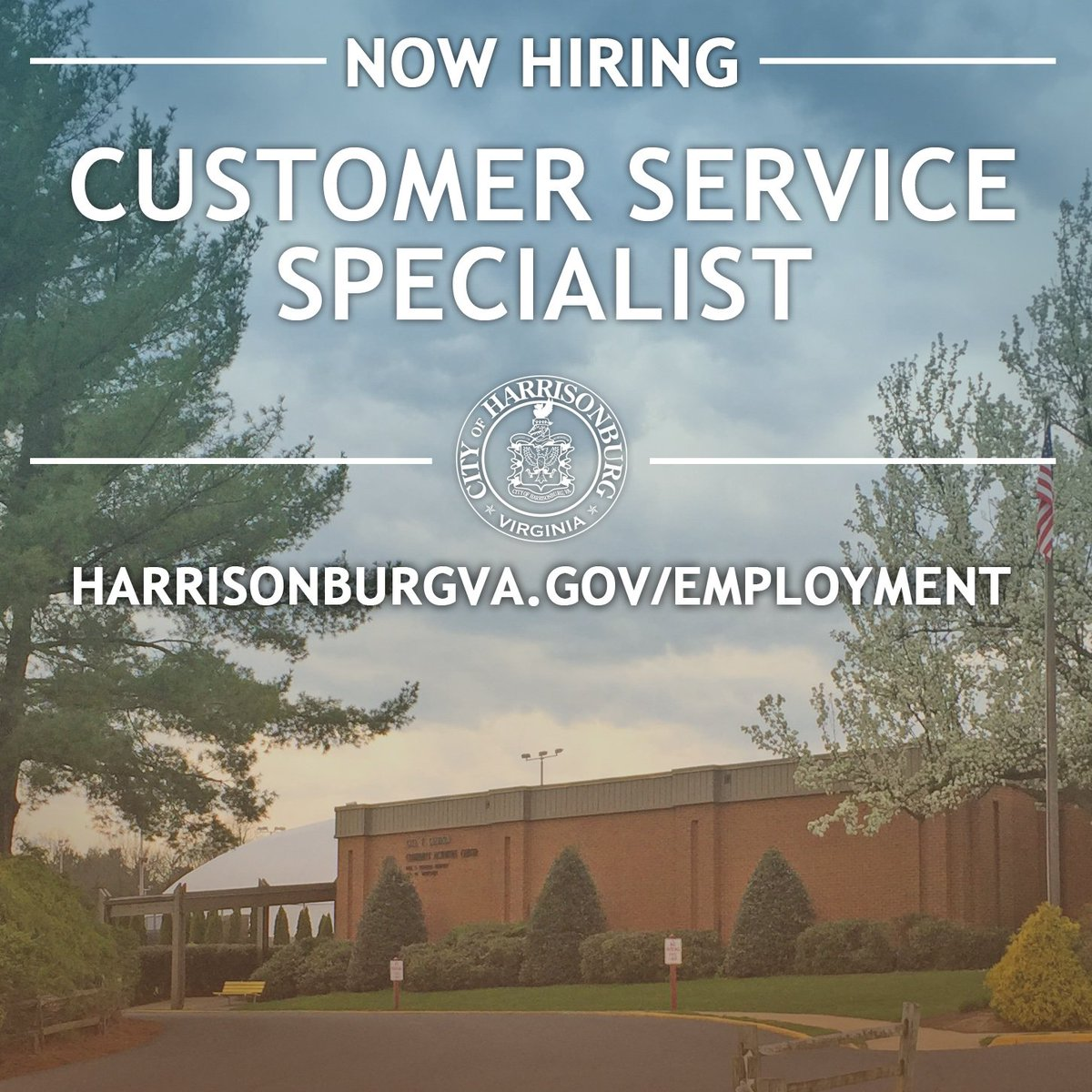Harrisonburg Va On Twitter Consider A Career With Hburgparks The
