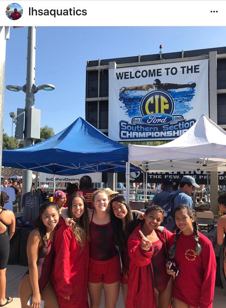 @Weave1036 We made it #LoaraHighSchool #AnaheimCa Swim