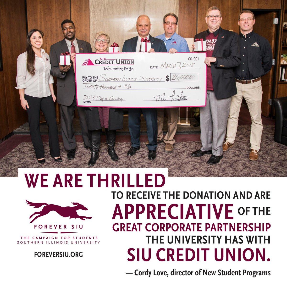 SIU Foundation on Twitter: