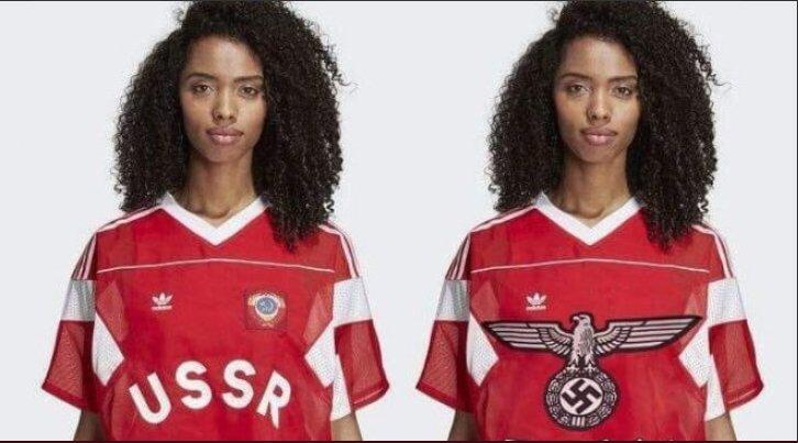 Одяг із радянською символікою досі можна купити на німецькому сайті Adidas - Цензор.НЕТ 1061