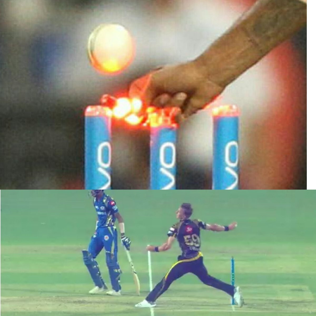 Meanwhile man of the match for Mumbai Indians is Empire #KKRvMI