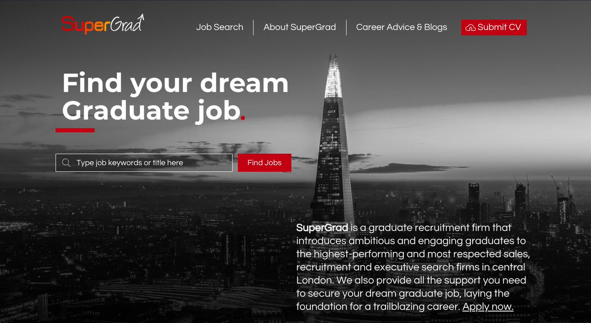 test Twitter Media - We're excited to let you know that our new website is now live! We can help you get your dream graduate job! Have a look now and let us know what you think https://t.co/UgLi4MghpM #graduatejobs #career #london #recruitment #sales #university #student https://t.co/ffNfWv6xQT