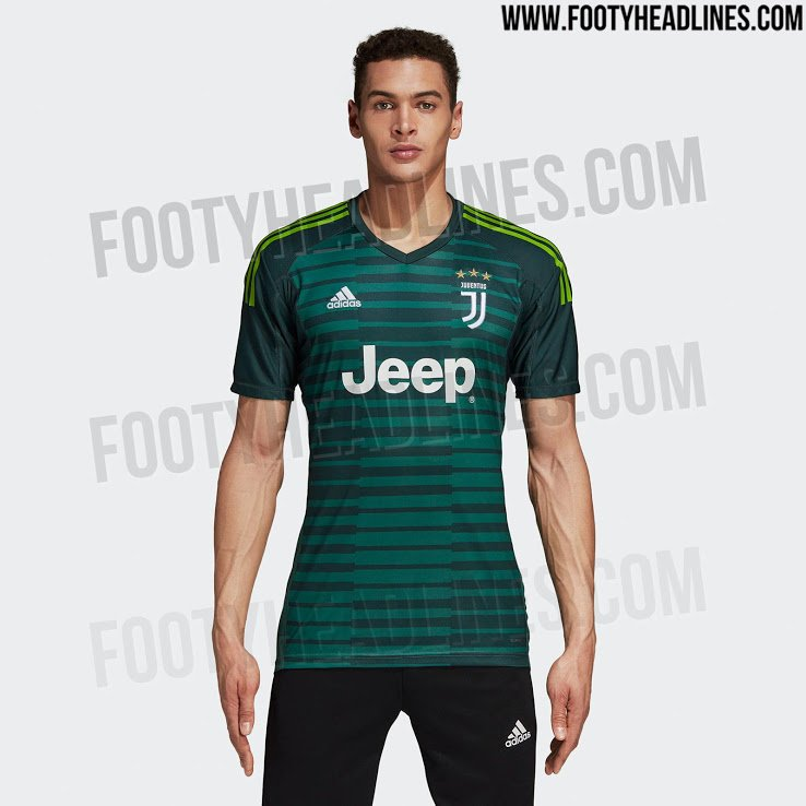 Juventus  Goalkeeper kit for the next season 18-19.  Footy headlines pic. twitter.com vOyQ0lVjlK fb6f6ab2b