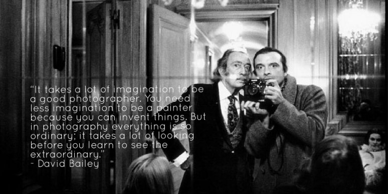 The Inspiration For 1966 Film Blow Up He Epitomized Swinging London Photographer At Time Love His Self Portrait With Dali