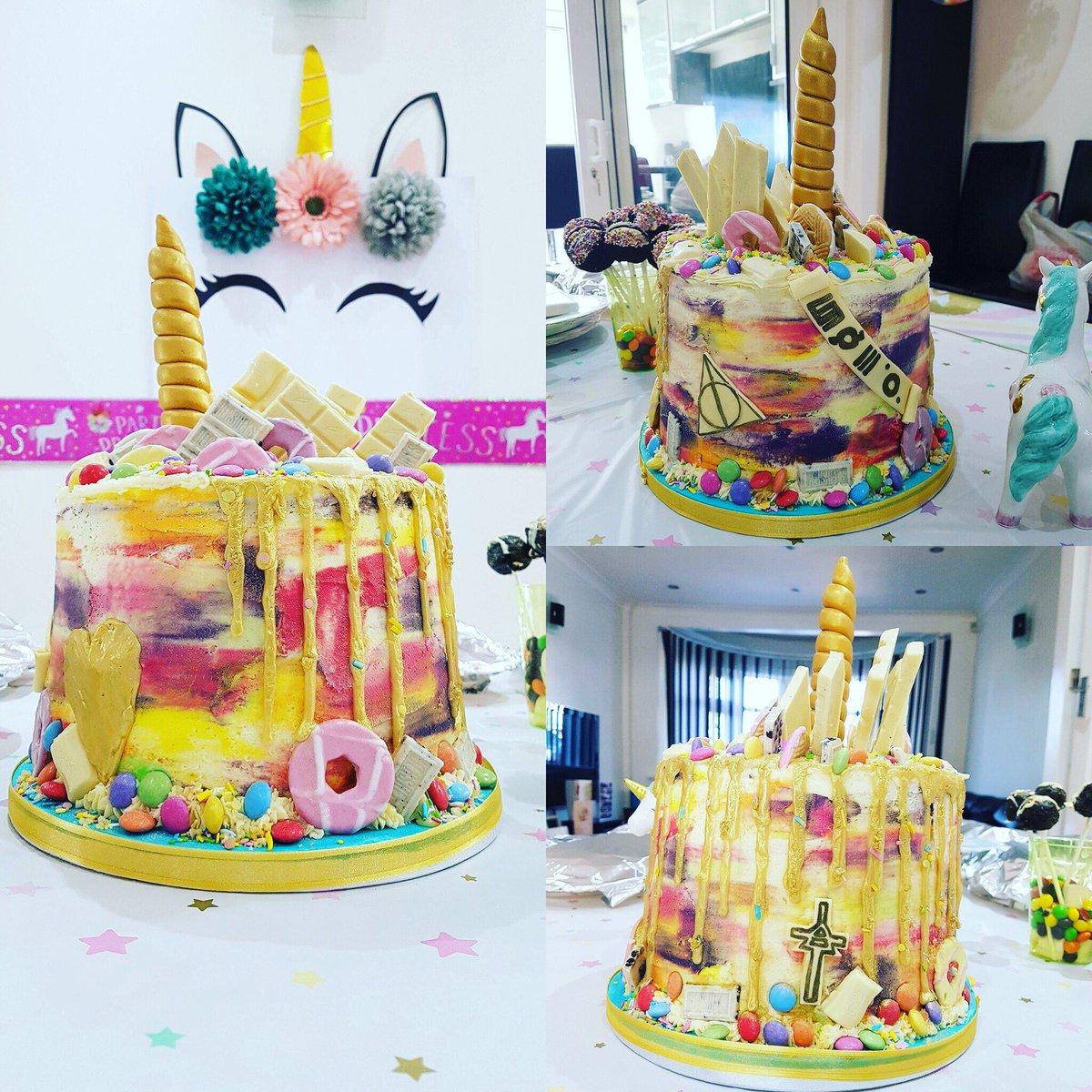 Shree On Twitter My 30SECONDSTOMARS Unicorn Birthday Cake