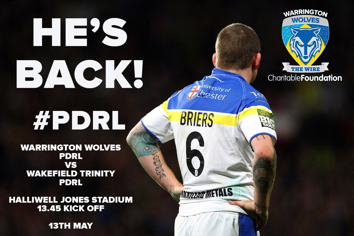 cc506aee0f2 Lee will line up in the Wolves PDRL team as they take on @WTrinityRL prior  to @TheChallengeCup tie against @TOwolfpackpic.twitter.com/63oN4A1jog