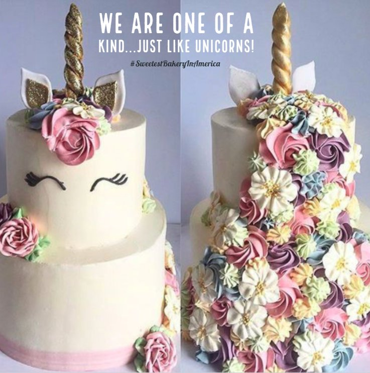 Alessi Bakery On Twitter We Would Be Hy As A Unicorn Eating Cake Rainbow If You Voted For Vote Us Sweetestbakeryinamerica
