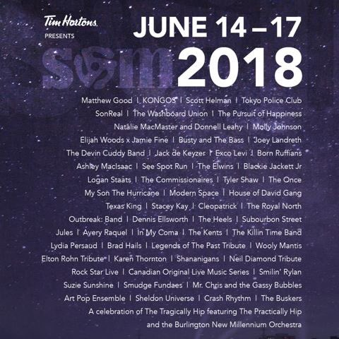 Our official #SOM2018 FREE lineup, as always! Which artist are you most excited to see?  Don't forget to get your ticket to our kick off weekend shows here: http://smarturl.it/SOM2018