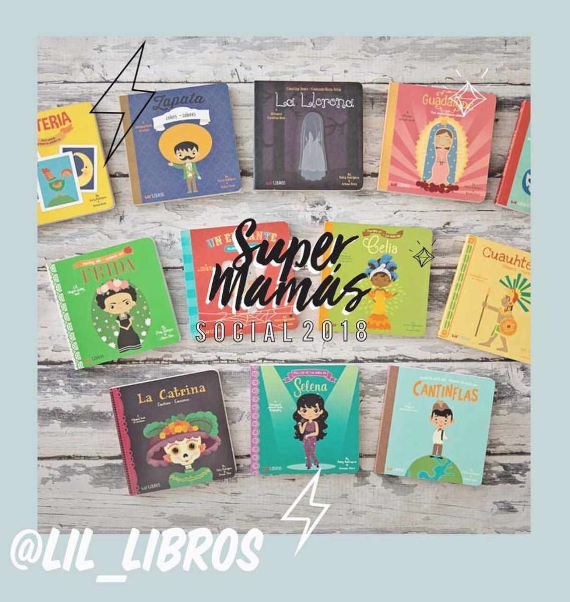 Grab your favorite titles and complete your @littlelibros collection at the #SMSocial18 !!