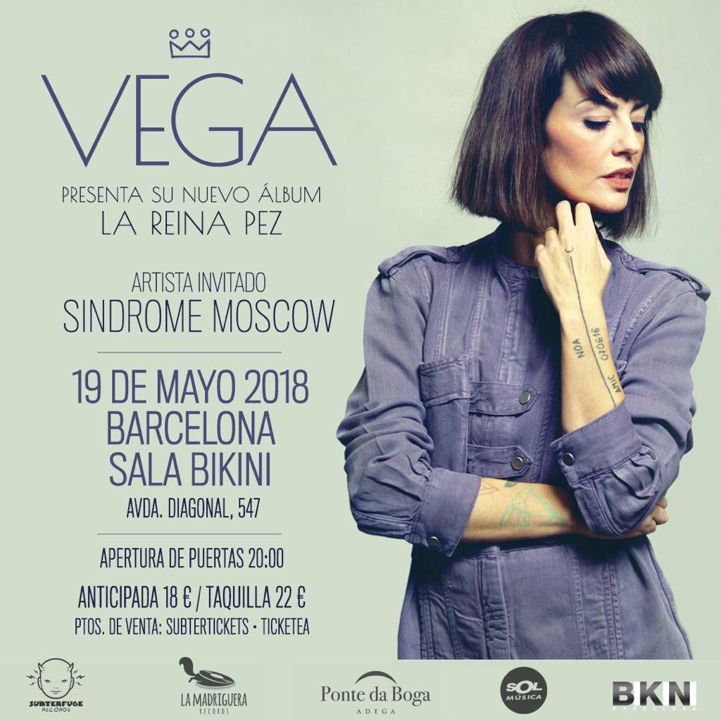 Vega en concierto