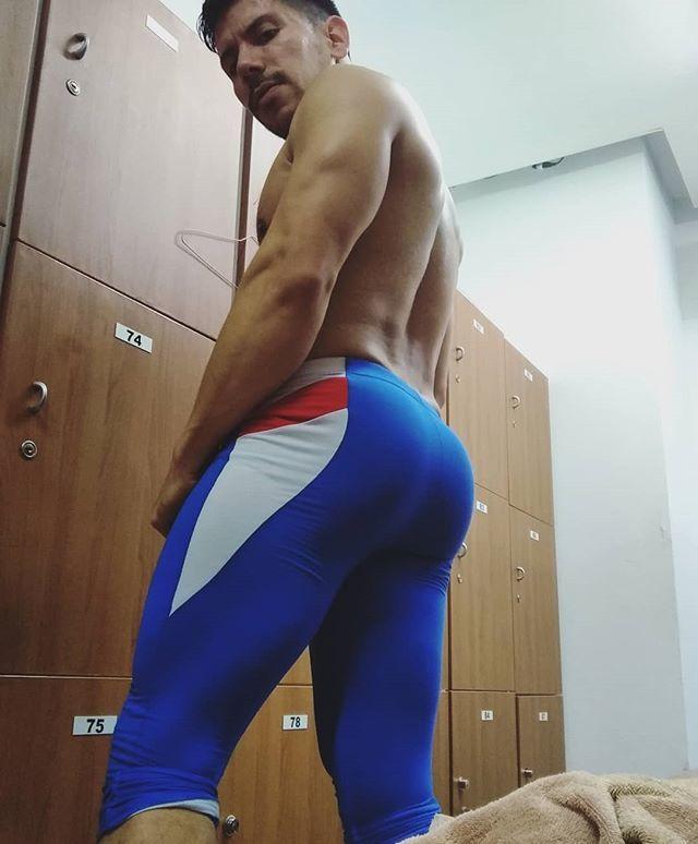 Man muscular ass