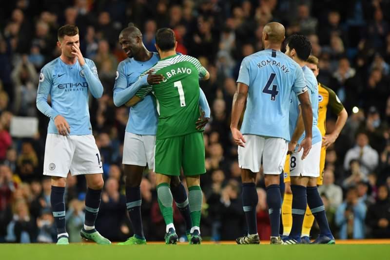 Video: Manchester City vs Brighton & Hove Albion