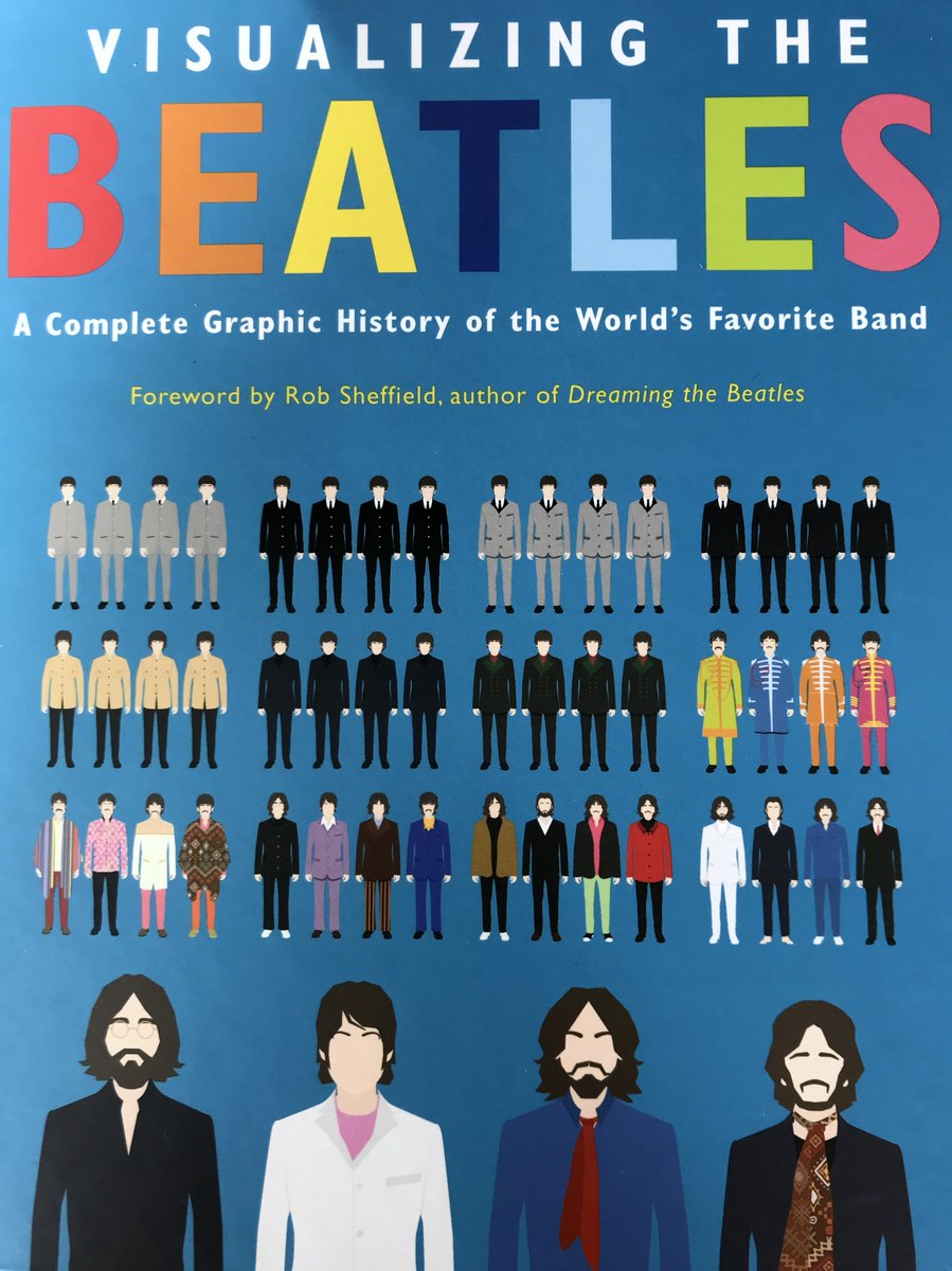 """Another book review: """"Visualizing the Beatles' Hey, I'm on a roll....https://www.nyjournalofbooks.com/book-review/visualizing-beatles…"""