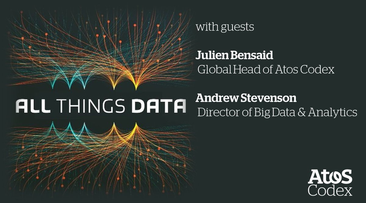 Internet of Things and Data Science are enabling intelligent  http:// operation.Meet     @Jbensaid, @Atos_AndrewSt guests of @ManjeetRege & @DanYarmoluk on the #AllThingsData Podcast  #DataScientist #BigData #IIoT #AI #ML #DeepLearning #YourExpert @Atos  http:// bit.ly/2rxufSD    <br>http://pic.twitter.com/SzOsowViGi