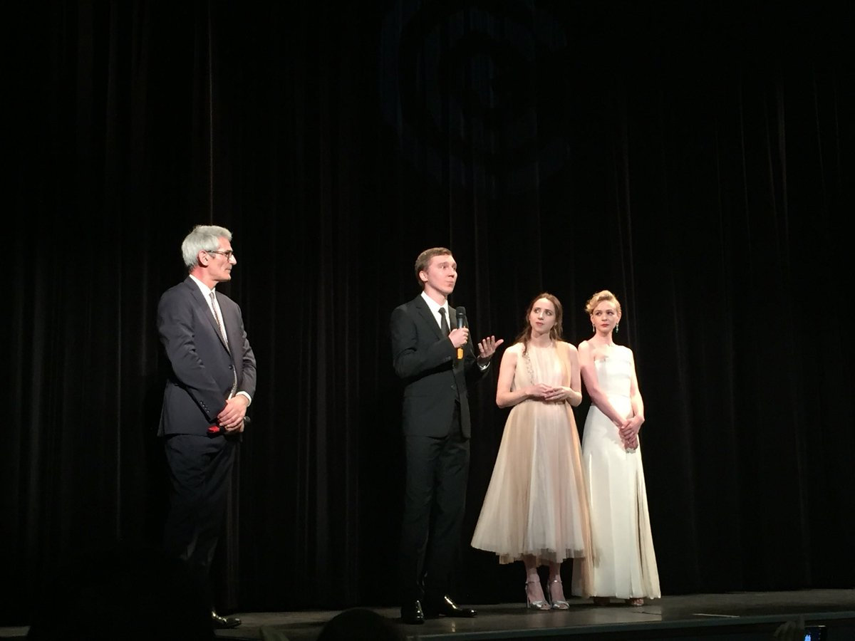 Paul Dano, Zoe Kazan et Carey Mulligan à Cannes