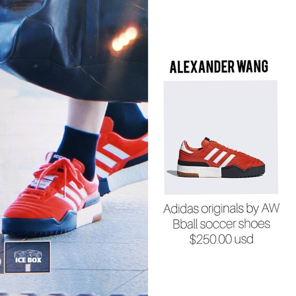 separation shoes d9886 1c379 180510 Shoes  Alexander Wang Adidas Originals by AW B-ball soccer shoes  250.00 USDpic.twitter.comPPUFfbN8A8