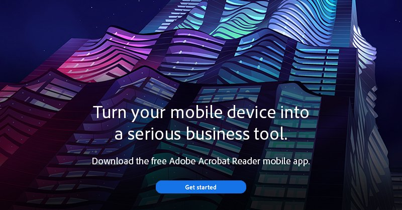 Acrobat Pdf Reader For Mobile
