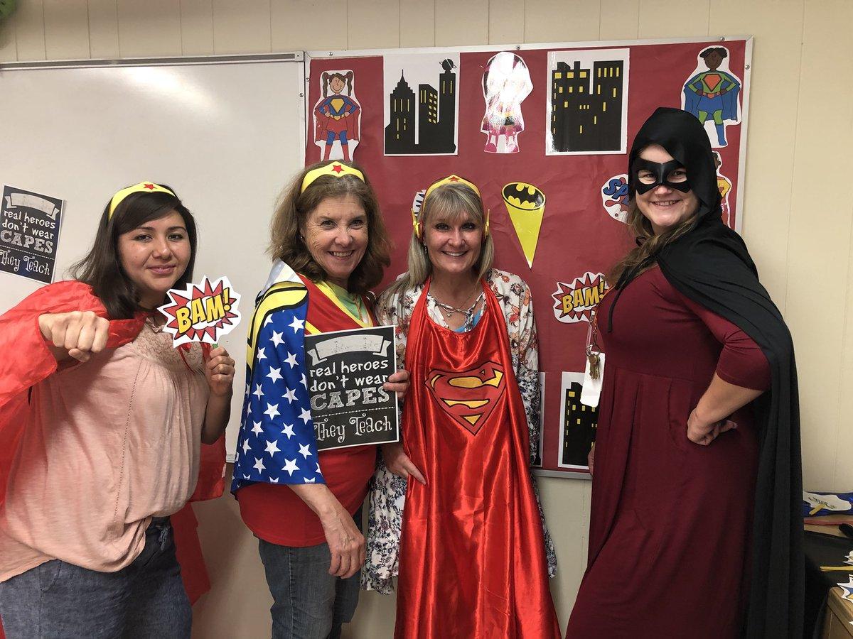 Dobie Pre K Center On Twitter Teacher Appreciation Superheroes