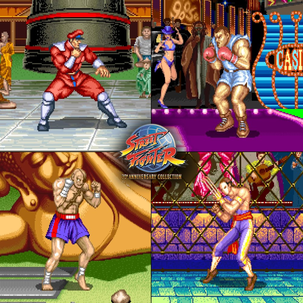 Which of the four Grand Masters from Street Fighter II is your favorite? �� #SF30th https://t.co/qyjczIOyfj