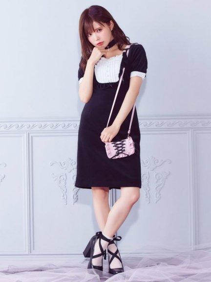 メイ(5月)の10日で、 #メイドの日 !!…に、ぴったりのアイテムを発見😘❣ EATME(イートミー)メイドライクレイヤードワンピース ¥14,040(税込) http://ow.ly/AXcU50hgNRL  メイド服のテイストを、かわいくリデザインされたとっておきの一枚♡ #パフ袖 #フリル #手触り柔らかコットンベロア