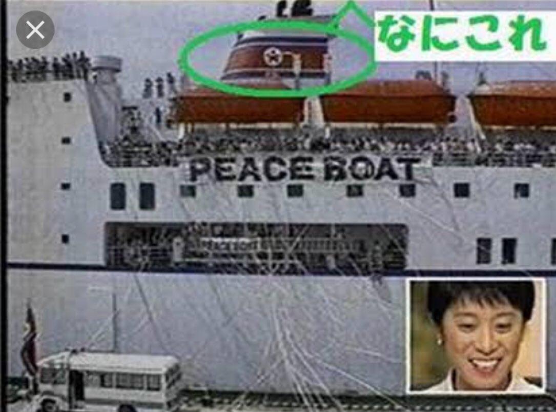 辻元 ピース ボート