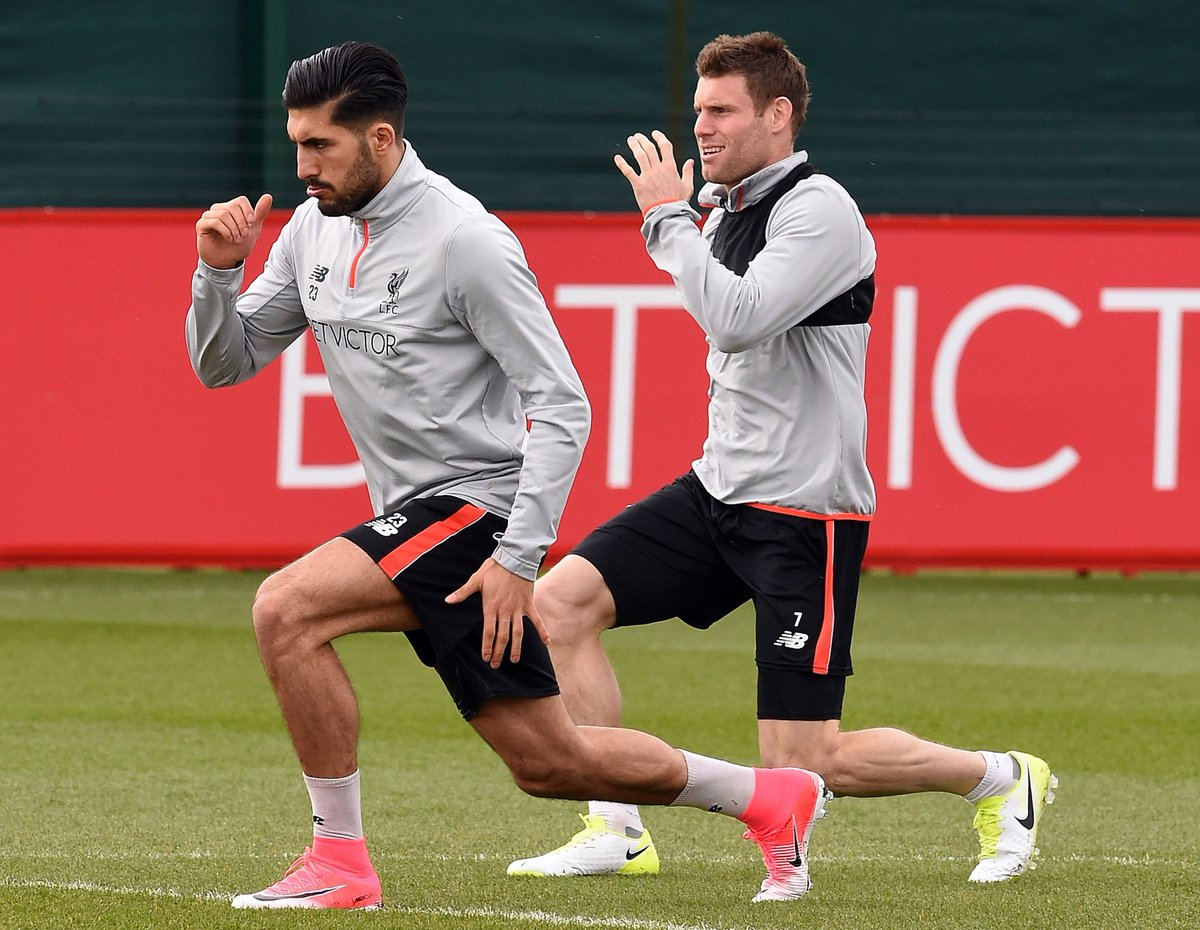 Jürgen Klopp has confirmed that Emre Can and James Milner WILL be fit for the Champions League final vs. Real Madrid 👌
