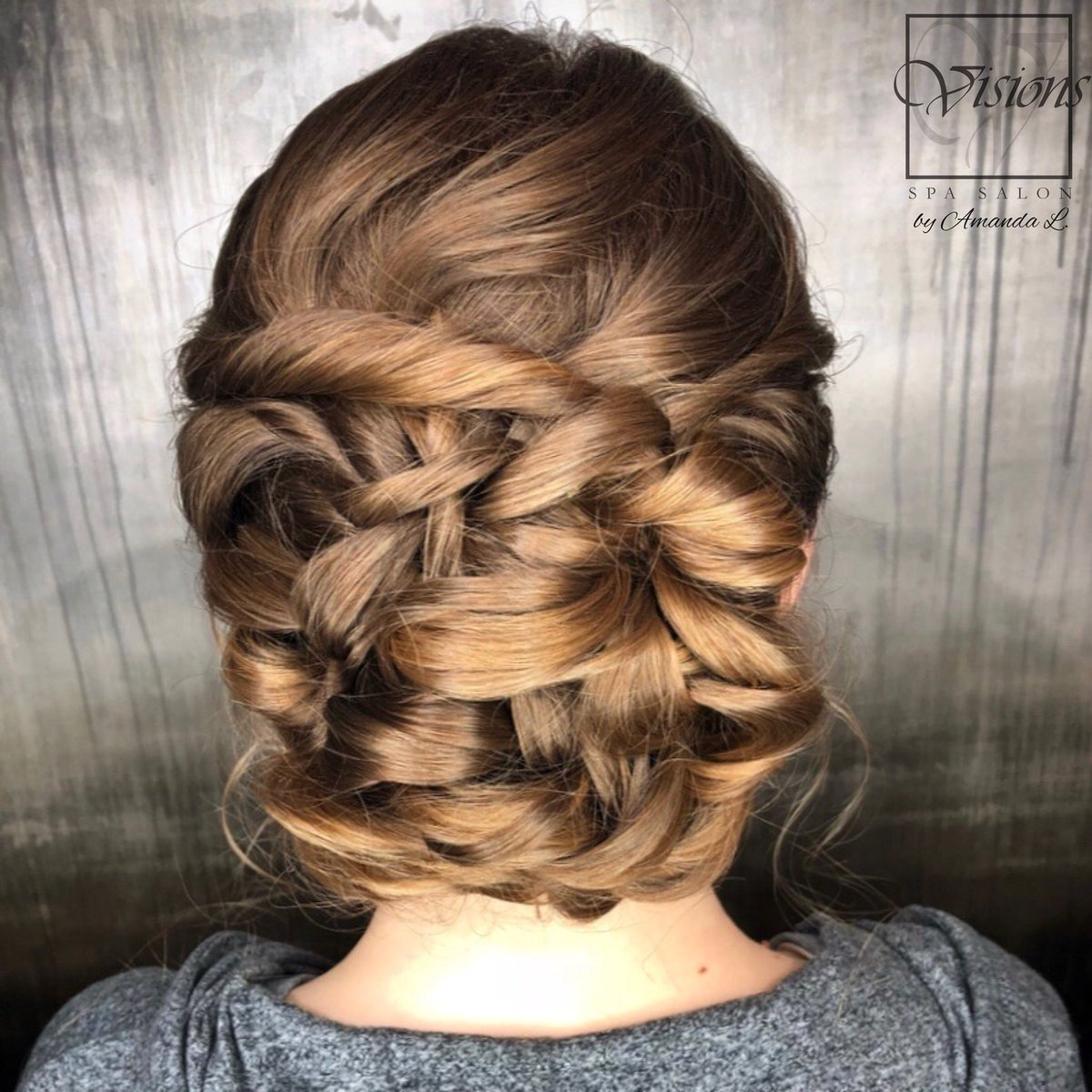 Visions Spa Salon On Twitter Beautiful Prom Hairstyle By Amanda