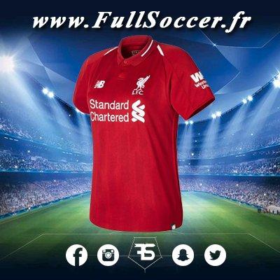 Le maillot de @LFC domicile 18/19 est disponibles dès maintenant sur notre site à prix cassé, n\