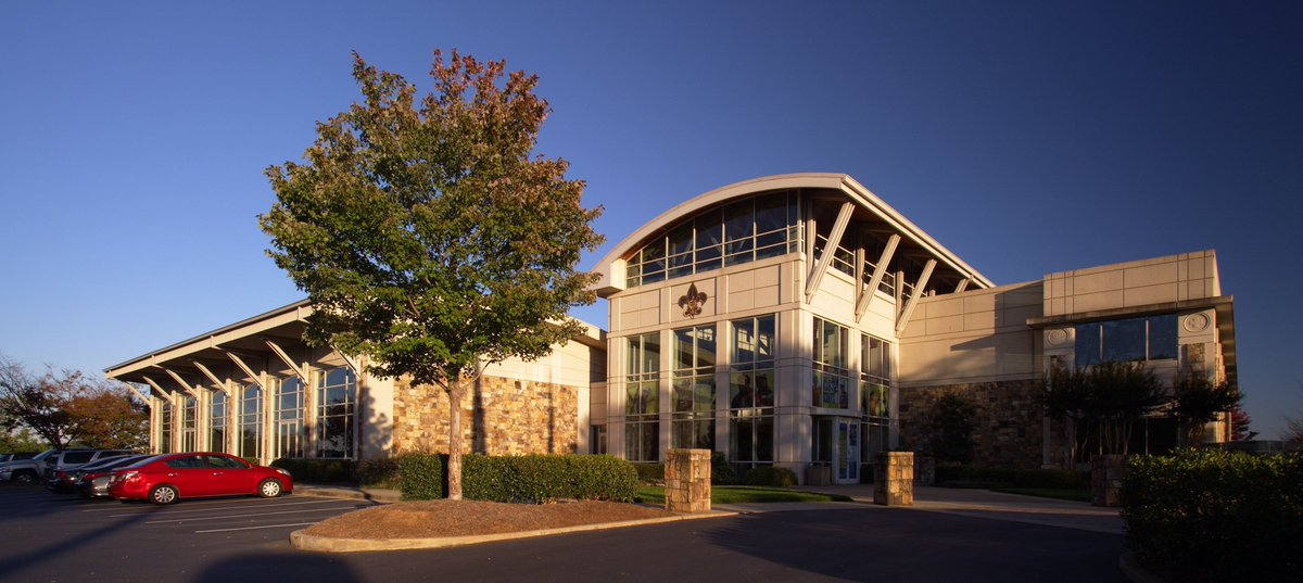 The exterior is clad with #architectural precast concrete panels featuring a buff-colored texture created with antique white cement, fieldstone-colored coarse aggregates and two depths of sandblast.   http:// ow.ly/pfnQ30k4kSA  &nbsp;    #HowPrecastBuilds #LearnPrecast #Concrete #Precast<br>http://pic.twitter.com/pd6SwgkaAp