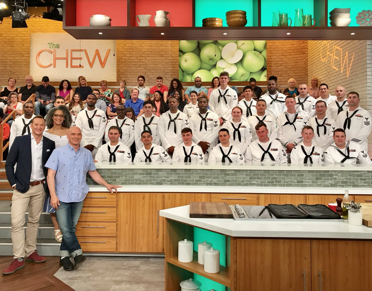 Don't miss a very special episode of #TheChew today at 1e|12c|p!