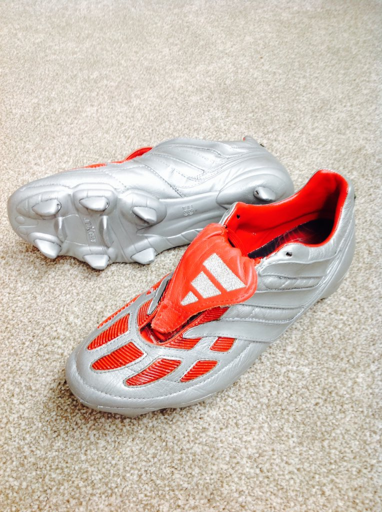 ca71a4dea66 ... 50% off check out these platinum edition adidas predator precision  boots released in 2000.