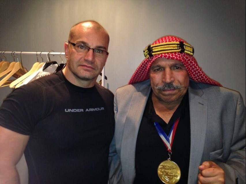 #TBT Meeting the Legend @the_ironsheik #Respect.