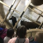 Meet Jill! We enjoyed watching the demonstration of the donkey turning the well