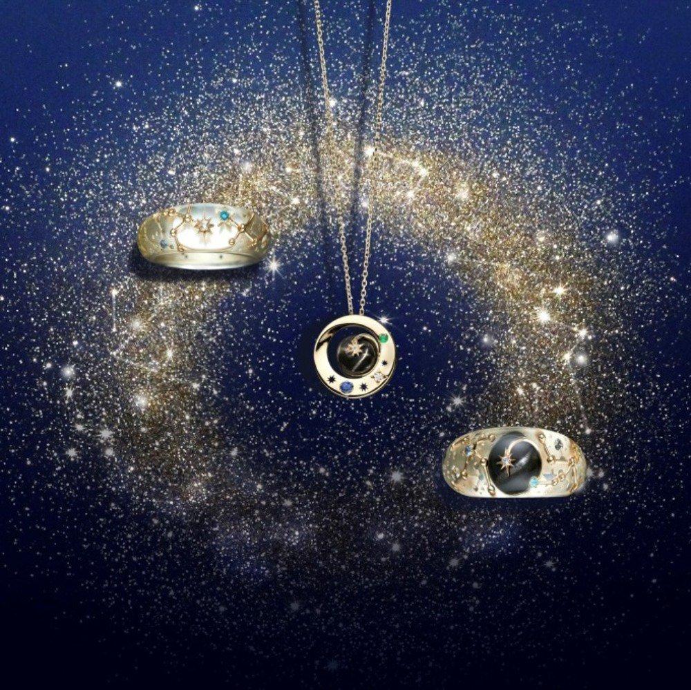 スタージュエリーから夜空に輝く星座を表現した限定ネックレス&リング - https://t.co/rExcJd9NGz