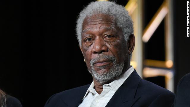 CNN's photo on Morgan Freeman