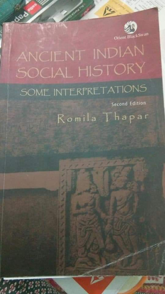 Ancient India Book By Romila Thapar