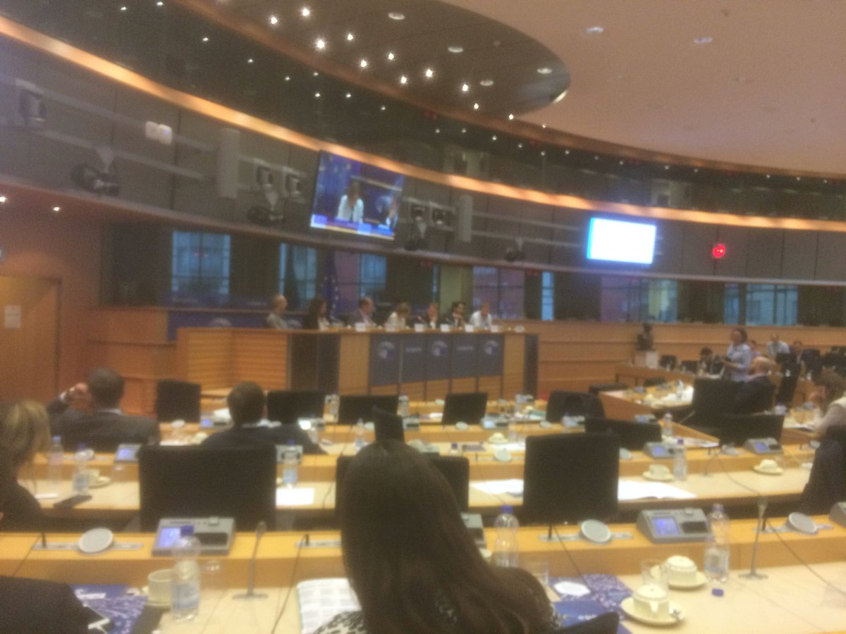 Last panel of the day - future of blockchain, AI and IoT!! #blockchain #blockchain4everyone #EuropeanParliament <br>http://pic.twitter.com/oZabfOw9Bz