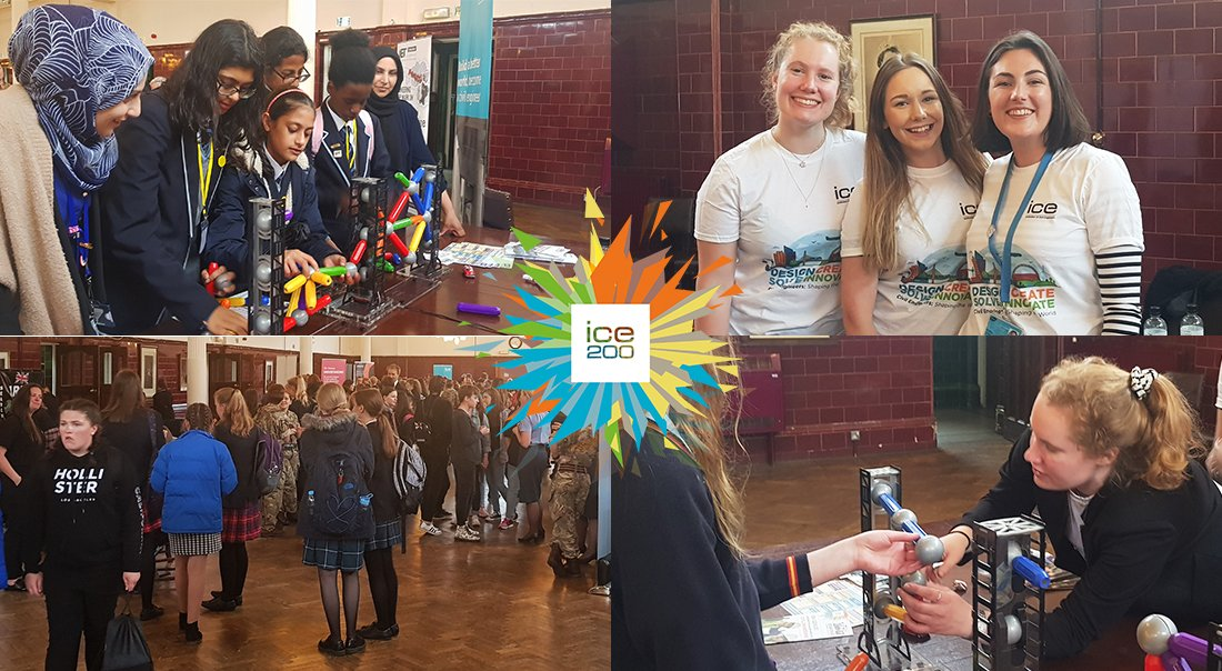 Lots of potential budding #CivilEngineers at todays #STEM careers showcase at @RMASandhurst. Its been a joy for us to attend and hopefully we have done more than just #InspireAnEngineer, hopefully weve inspired lots of them.... 💭⚡️ #ICE200 #YoE