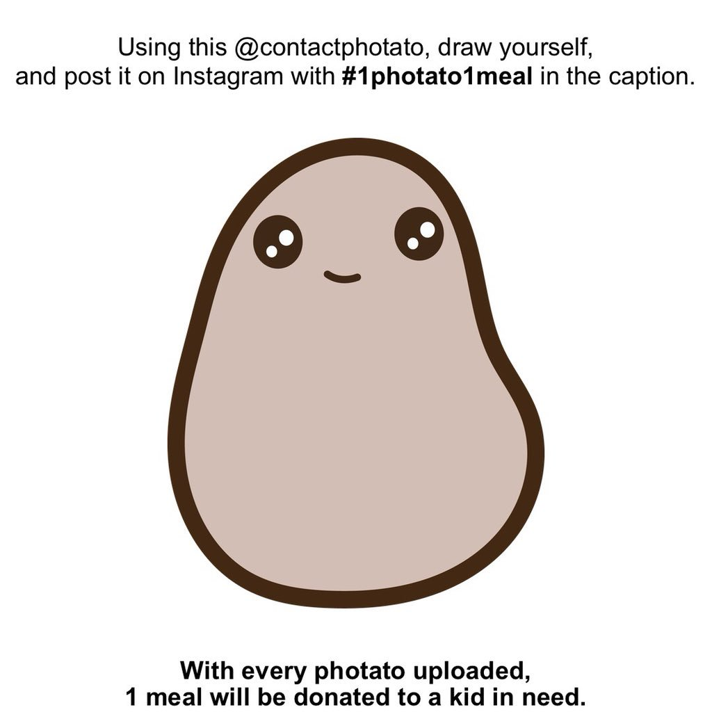 Contact Photato On Twitter Save Our Meme Draw Yourself And Post