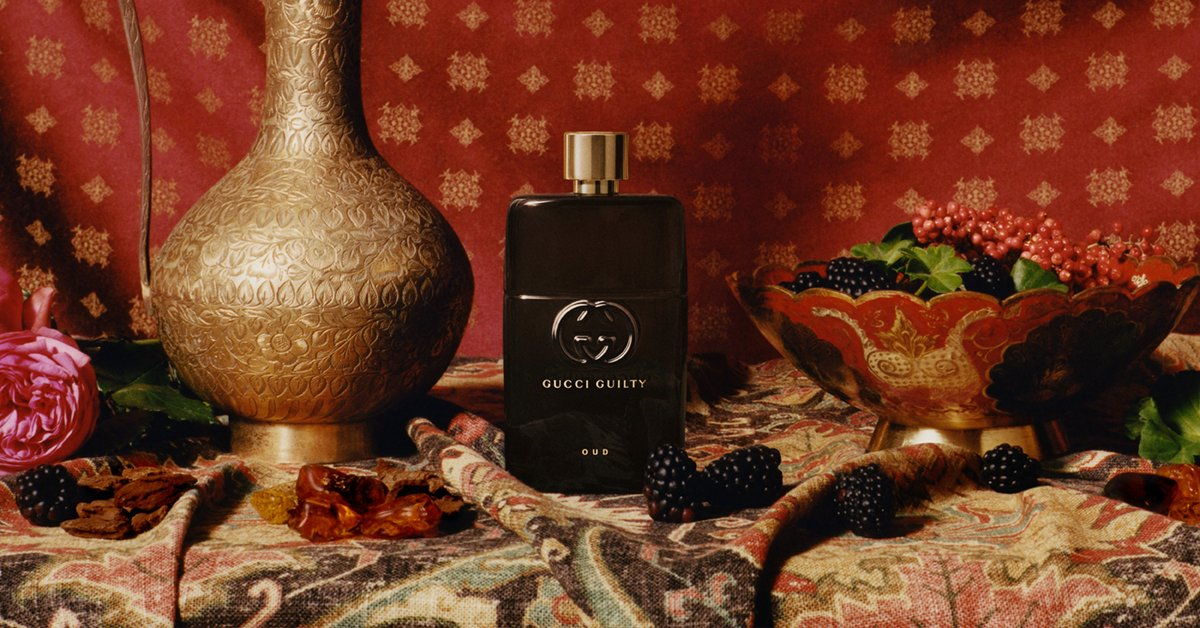 7f32a843f9 ... Guilty Oud represents the richness of the Oriental Oud scent inside.  Discover the fragrance http://on.gucci.com/_GucciGuiltyOUD .