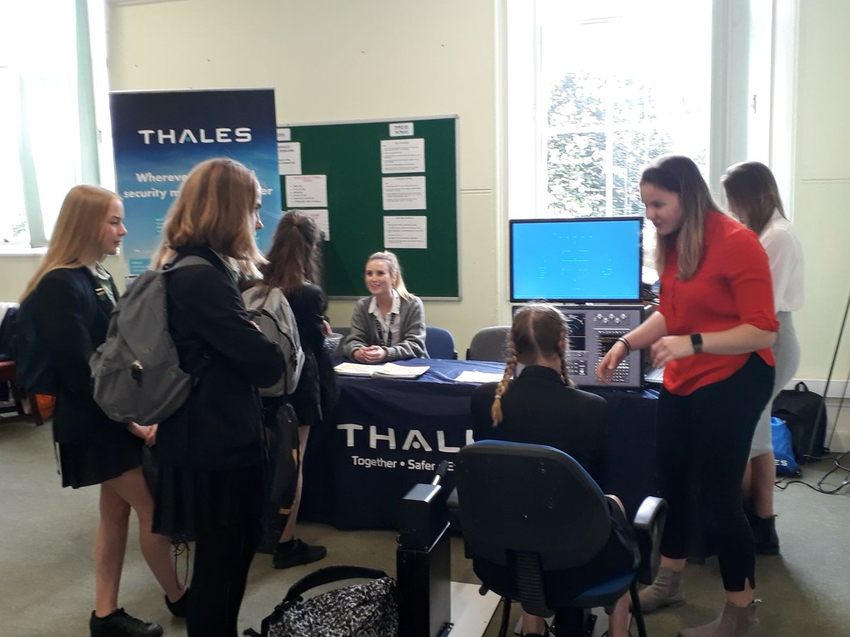 Great day at @RMASandhurst talking to pupils about the opportunities for women in #STEM. Learn more about our STEM activities here: thlsuk.com/zGKU30k9X1B