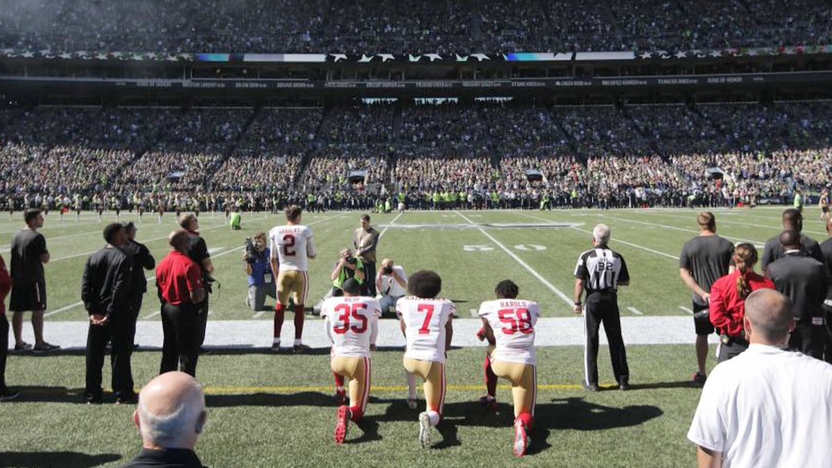 NFL Bans National Anthem Protests On Same Day Video of Police Tasering of NBA Player is Released https://t.co/Ha4dFc2heS