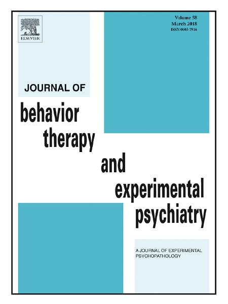 reflection paper on behavior therapy Rational emotive education past, present, and future william knaus american international college springfield, massachusetts rational emotive education (ree) is a positive, preventive, interventionist psychological educational program.