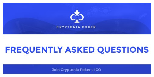 Find the answers to the most common questions!  https:// goo.gl/gvwztU  &nbsp;    #poker #pokergames #onlinepoker #ico #cryptocurrency #blockchain #today #tapfordetails #games #gaming #etherum #crypto #follow4follow #followforfollow #like4like #princeofpoker #ScottyNguyen<br>http://pic.twitter.com/SlWFWYzBsa