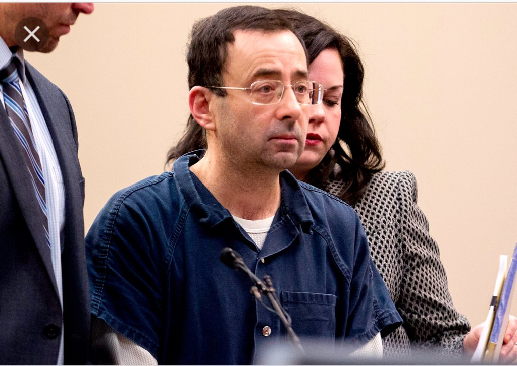 "Umm ya might wanna think before you tweet falsehoods.  Ask Larry Nassar who this year was sentenced to over 100 years for sexual assault, if this is specifically a ""black"" thing.   Unfortunately for all of us, sexual assault spans all races.  https:// abcnews.go.com/US/olympic-doc tor-sentenced-40-125-years-prison/story?id=52846154 &nbsp; … <br>http://pic.twitter.com/HcDlB8Oz8j"